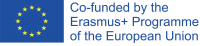 Logo European Commission 'co-funded by the Erasmus+ Programme of the European Union